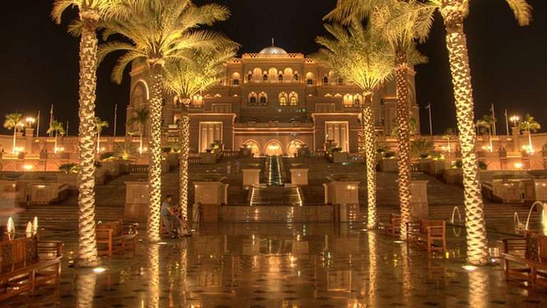 Dine in style at Emirates Palace