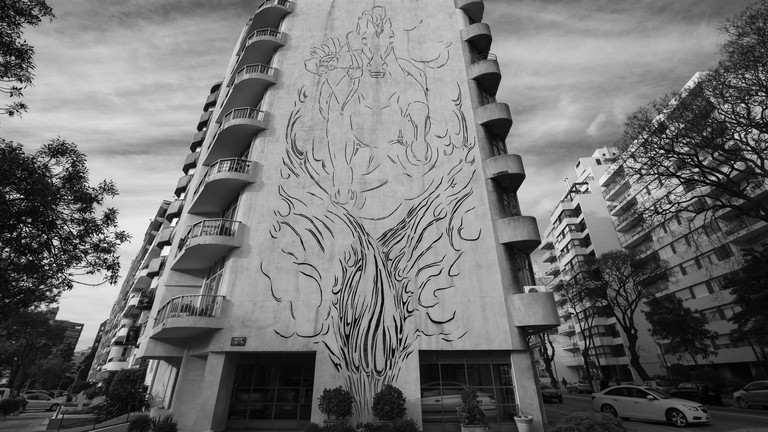 Edificio El Indio, Uruguayan architecture, architecture, Montevideo, Uruguay, building