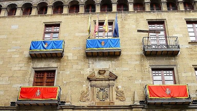Ayuntamiento Sos del Rey Catolico, Spain