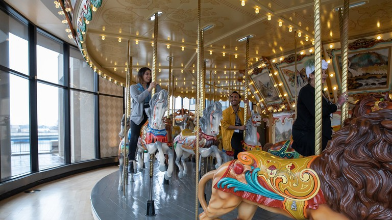 Carousel at Grand Rapids Public Museum