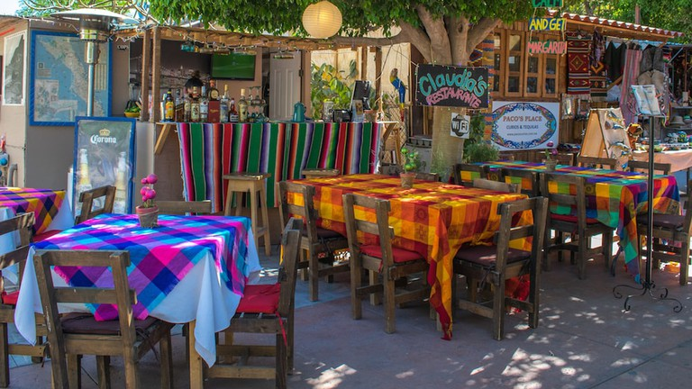 Colourful Claudia's is famed for her amazing yellowfin tacos and beautiful margaritas