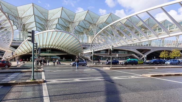 Gare do Oriente (Orient Station), Lisbon, Portugal
