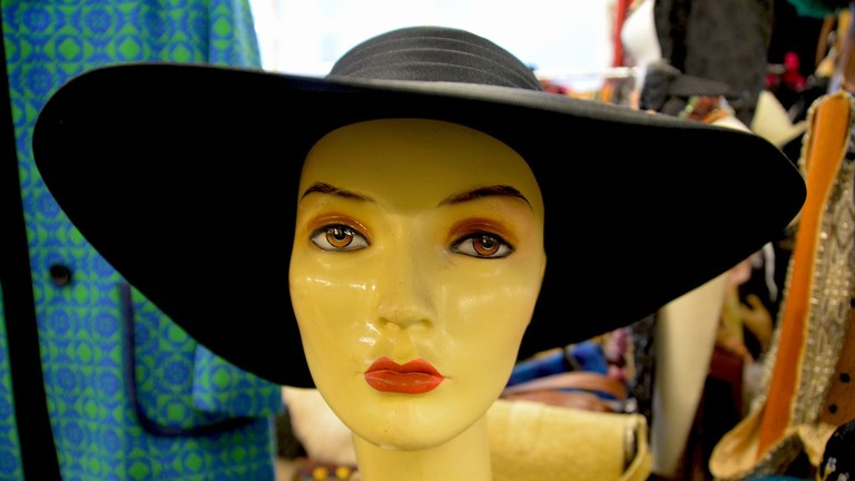 Vintage hats galore at Shag