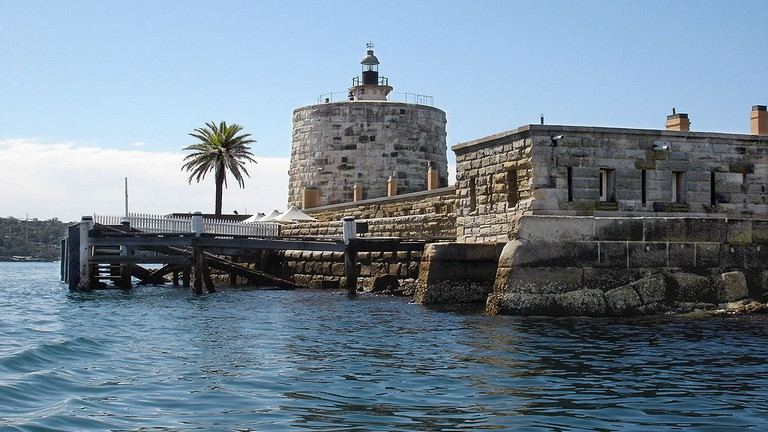 Fort Denison, Sydney Harbour © Andy Mitchell / Wikimedia Commons