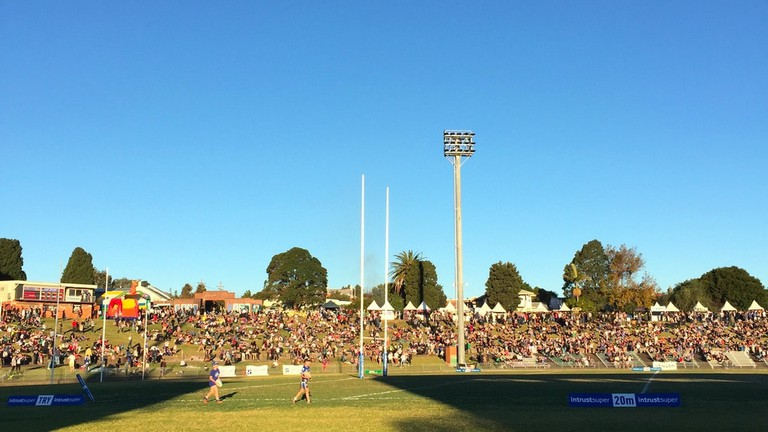 The Newtown Jets playing at Henson Park © Tom Smith