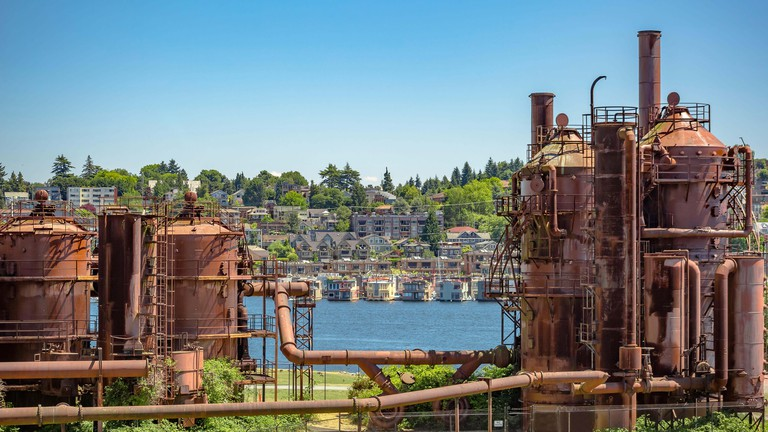 Gas Works Park, Seattle.