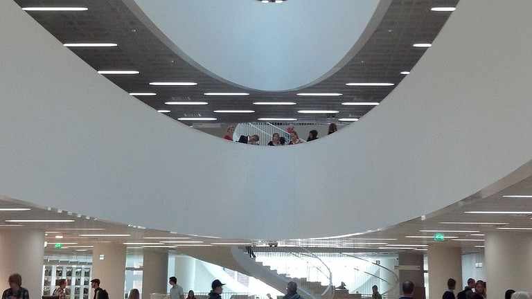 A city centre library in Helsinki for Instagramming.