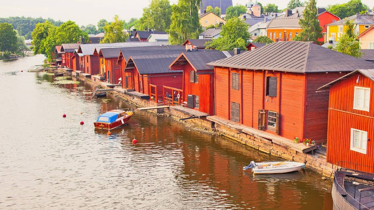 A photogenic gem in Porvoo, Finland