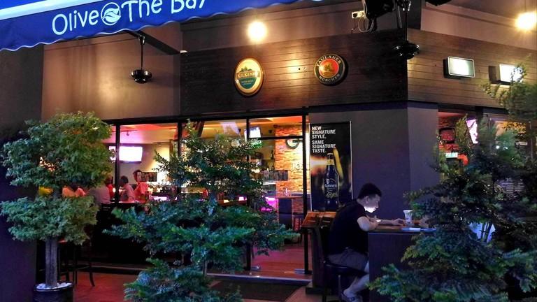 Olive The Bay bar