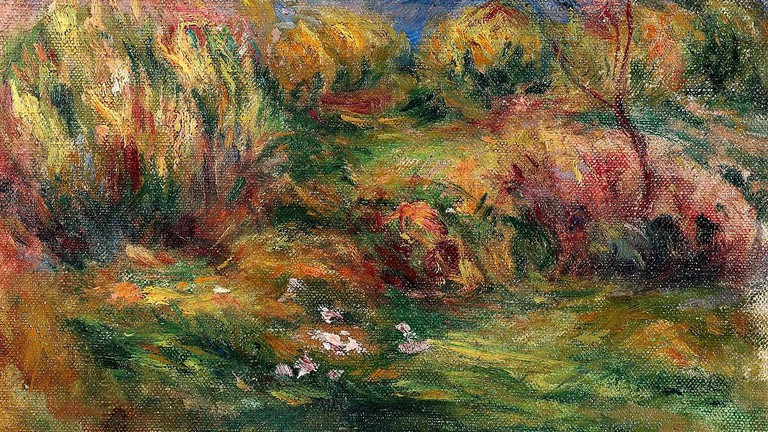 A Renoir sold in 2009 by the Galerie Hurtebize, Cannes |© Public domain / WikiCommons