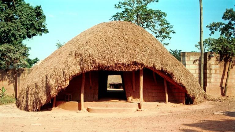 Buganda Royal tombs at Kampala, Uganda
