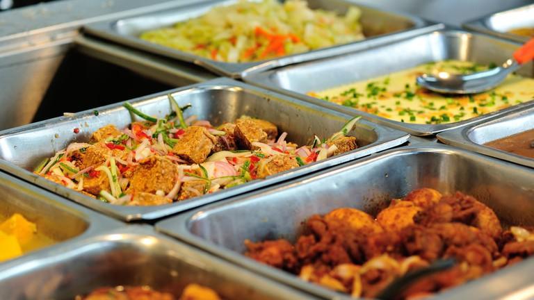 Self service Chinese restaurant