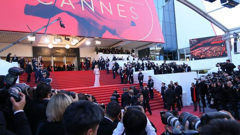 Uma Thurman attends the 'Ismael's Ghosts (Les Fantomes d'Ismael)' screening, Cannes, 2017 |© Denis Makarenko / Shutterstock