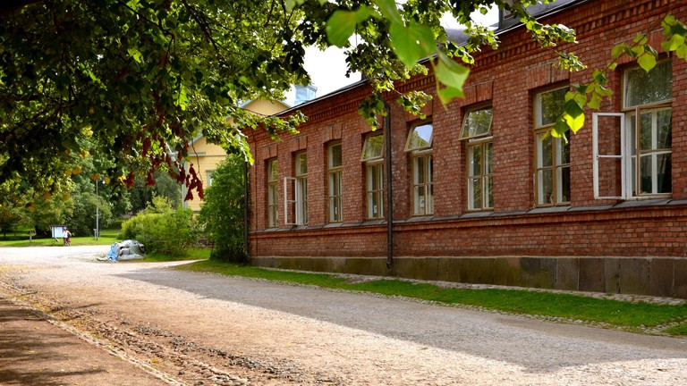 A dream location for a hostel at Suomenlinna, Helsinki.