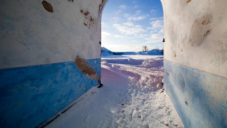Suomenlinna fortress in Helsinki, Finland, for best Instagram images.