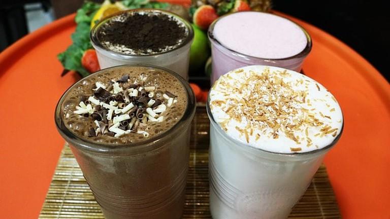 Milkshakes for breakfast? Why not!