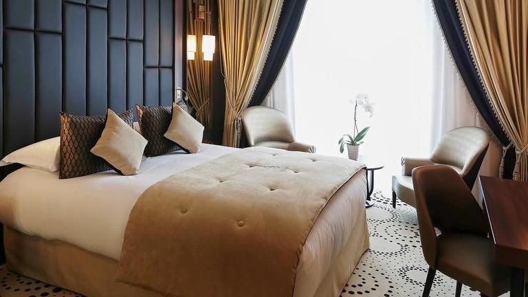 Guestroom at Le Regina Biarritz Hotel and Spa