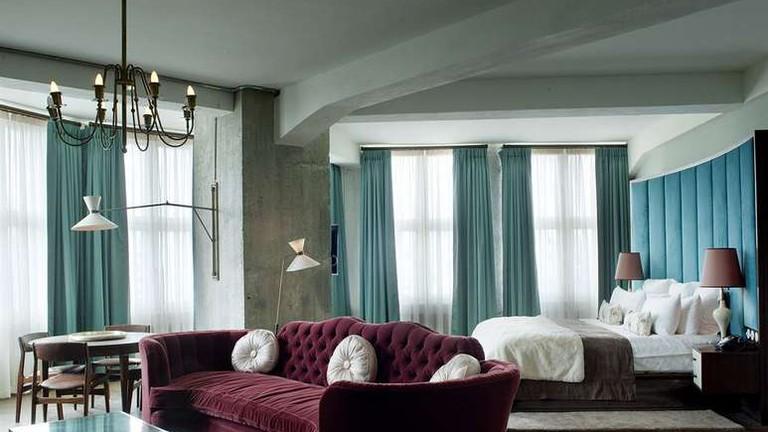 Guestroom at Soho House Berlin