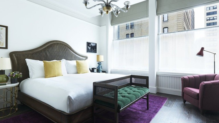 Guest room at The Beekman A Thompson Hotel