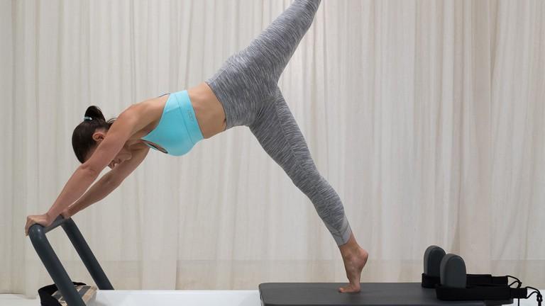 Reformer pilates at Barre Body's Windsor studio