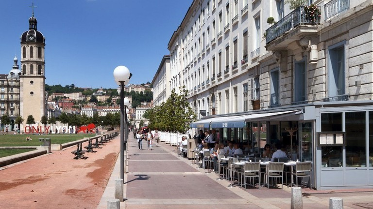 Brasserie Le Sud next to Place Bellecour | © creditphoto.com / creditphoto.com