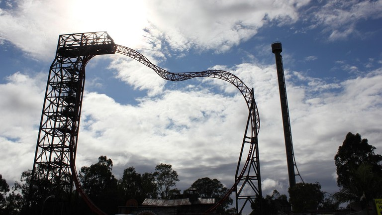 Buzzsaw ride at Dreamworld © Holiday Point / Flickr
