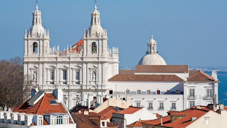 Sao Vicente de Fora Monastery, Lisbon, Portugal.