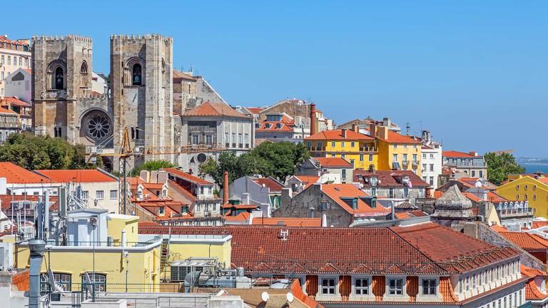 Sé de Lisboa, Lisbon, Portugal.