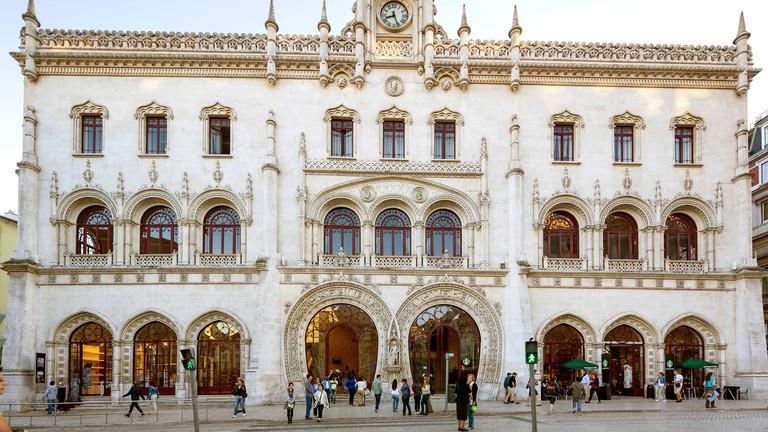 Estação do Rossio Lisbon, Portugal.