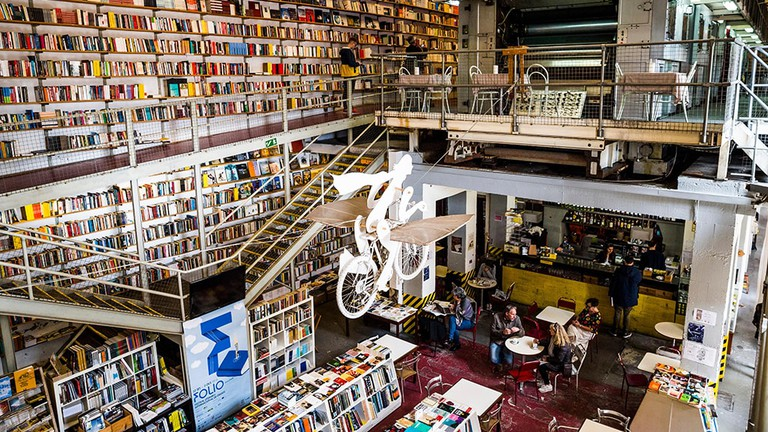 Ler Devager, a bookstore in Lisbon, Portugal