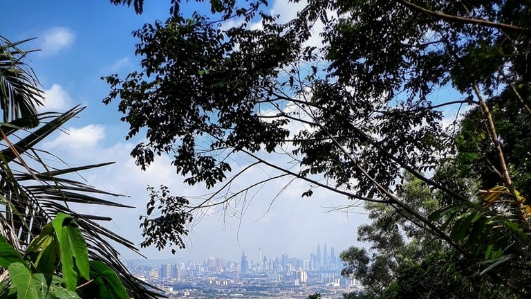 Saga Hill hiking trail, Kuala Lumpur