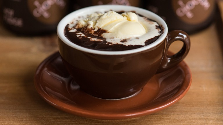 The Chocolate Room: Hot Chocolate Float