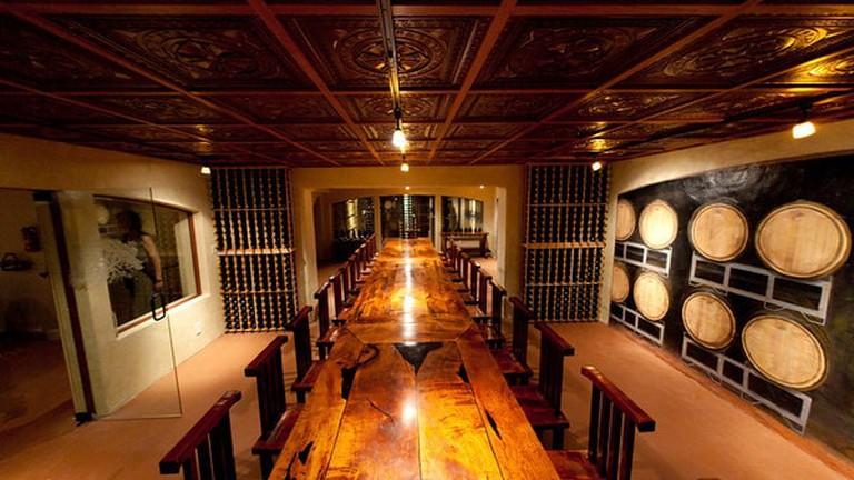 Becker Vineyards Library