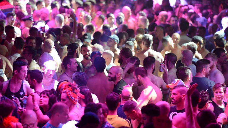 Revellers at a Sydney Mardi Gras party © Jeffrey Feng / Sydney Gay and Lesbian Mardi Gras
