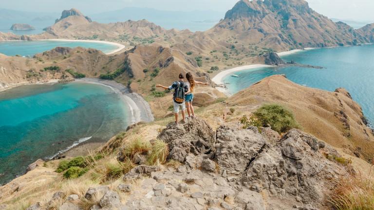 Pulau Padar viewpoint, Indonesia
