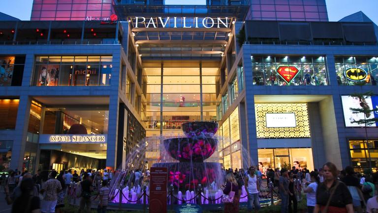 Exterior of PAVILION, Kuala Lumpur, Malaysia