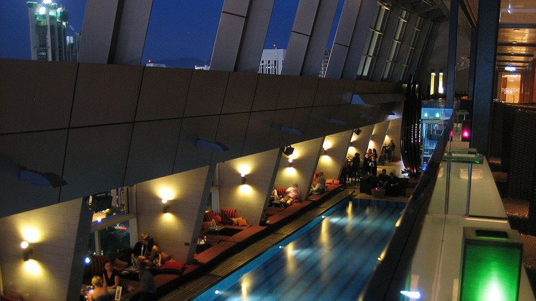 Relax and enjoy the view from Traders Hotel