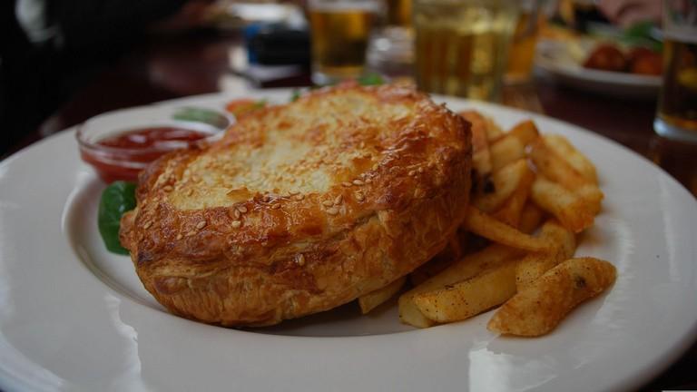 Sink your teeth into English pub grub at The Mason's Arms