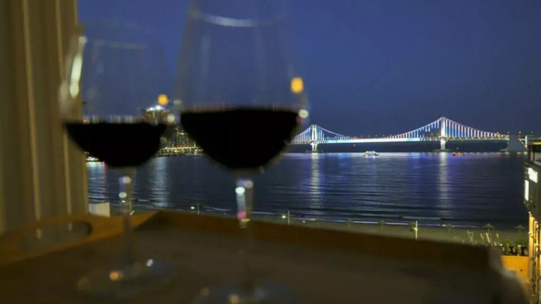 Wine for two... with a view