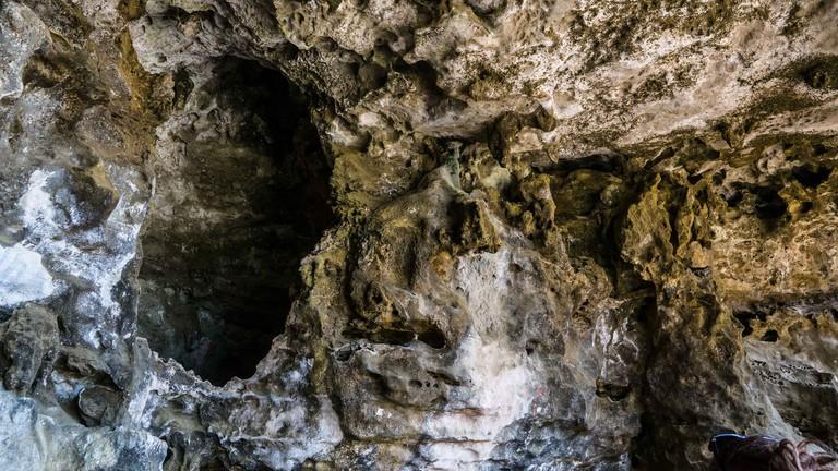 Fontein pictograph cave, Arikok National Park, Aruba.