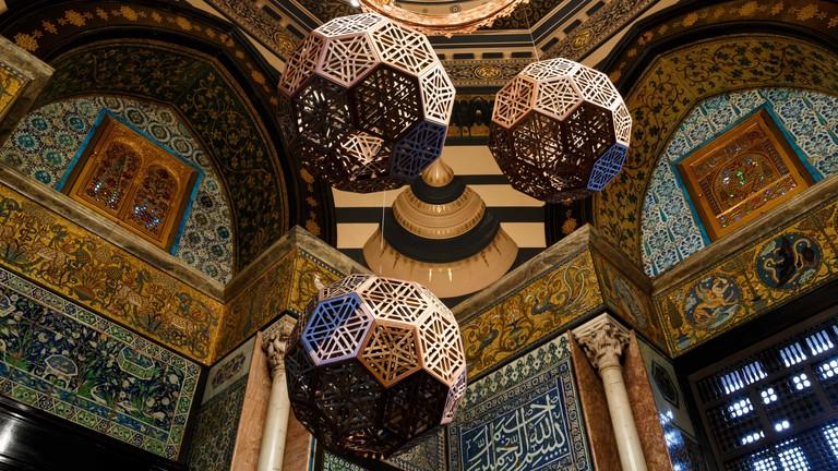 Arab Hall at Leighton House Museum, London