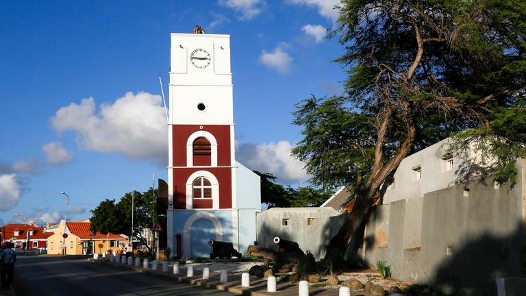 Fort Zoutman and the Willem II tower, Aruba.