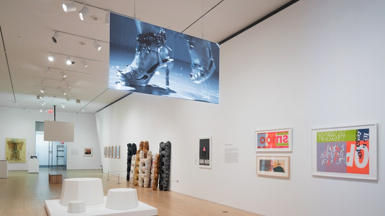 Half the Picture: A Feminist Look at the Collection, August 23, 2018 through March 31, 2019. Installation View.