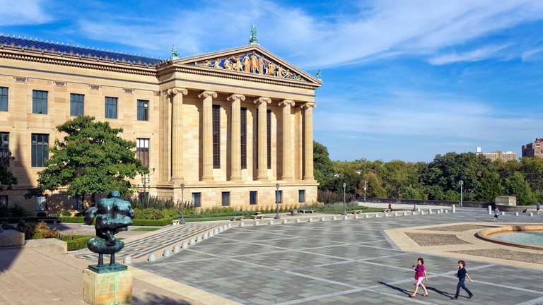 Philadelphia Museum of Art, building exterior, Philadelphia, Pennsylvania