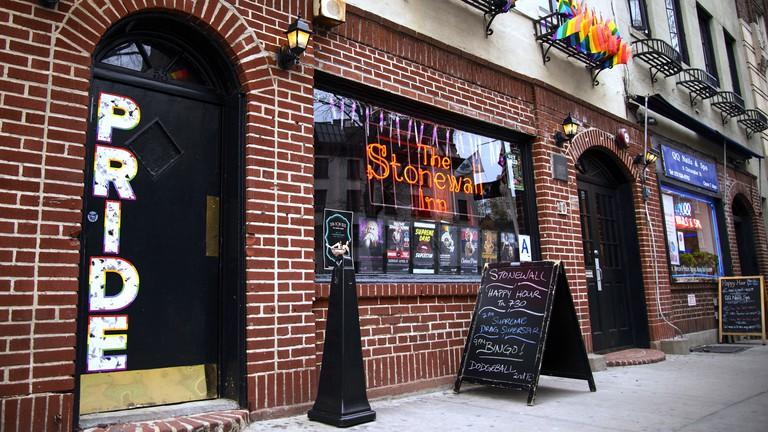 The Stonewall Inn, Greenwhich Village, New York, USA.