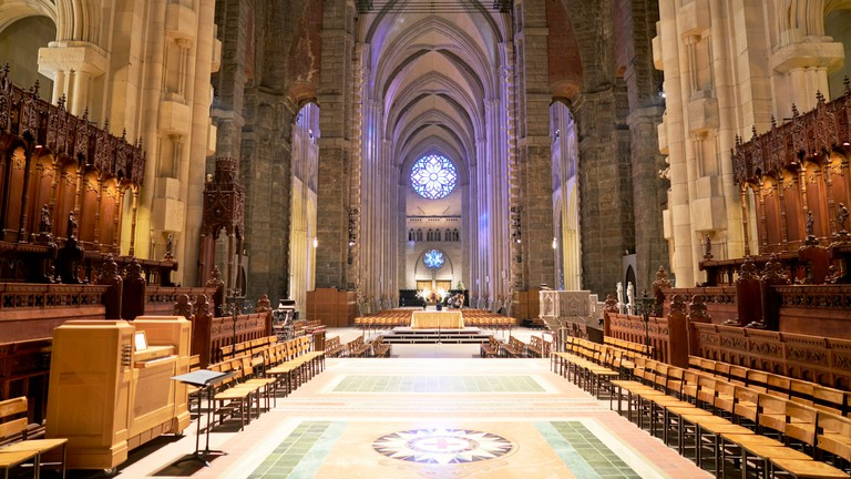 Cathedral of Saint John the Divine, New York.