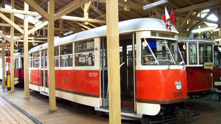 Muzeum_MHD,_Tatra_T1_5001