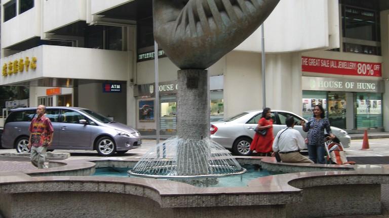 Mother and Child Sculpture Ng Eng Teng Singapore