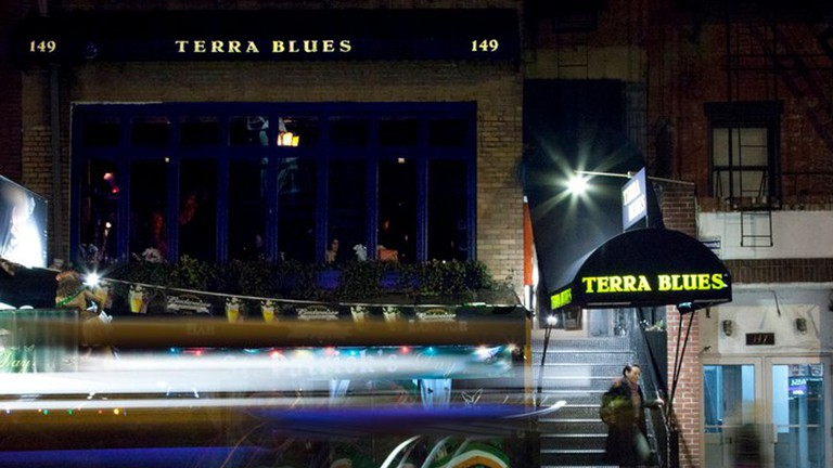 Terra Blues at night