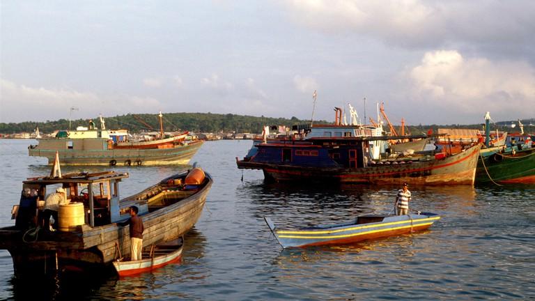Tanjung pinang harbor, Indonesia, Bintan